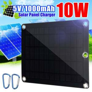 KINCO Portable Solar Panel 5W 10W Mini Solar Cell Module Panel System For Outdoor Battery Cell Phone...