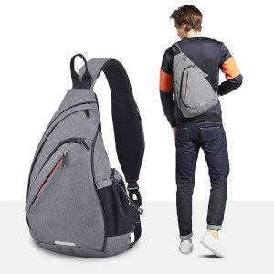 Mixi Men One Shoulder Backpack Bag Boys Work Travel Versatile Fashion Bag Student School University ...