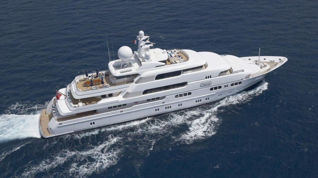 Titania yacht