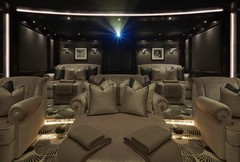 yacht tis private cinema