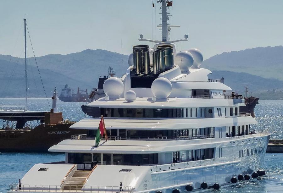 yacht aft deck