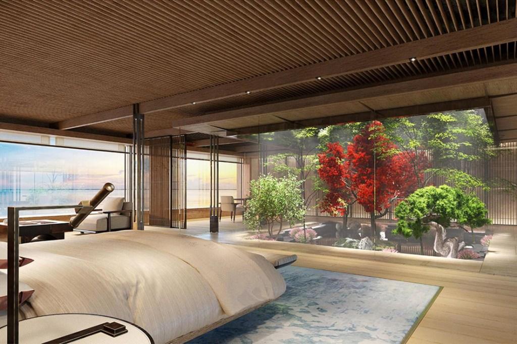 garden in bedroom
