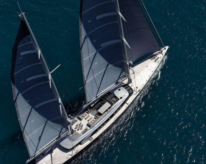 luxury sailing yacht sybaris