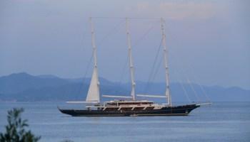 August 2014 Sailing Video: Perini Navi's Maltese Falcon