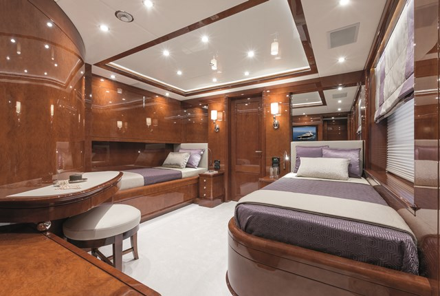 Megayacht News Onboard Benettis Checkmate Megayacht News