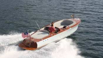 Chris-Craft Carina 20, New Vertical-Bow Runabout - Megayacht