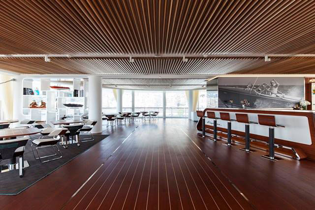 Riva Aquarama Lounge In Monaco Yacht Club PHOTOS