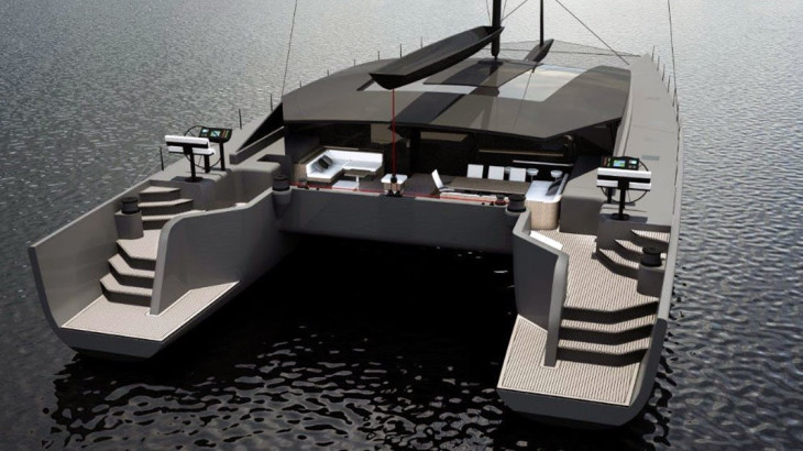 MC90 Cat McConaghys New Sailing Catamaran Series Megayacht News