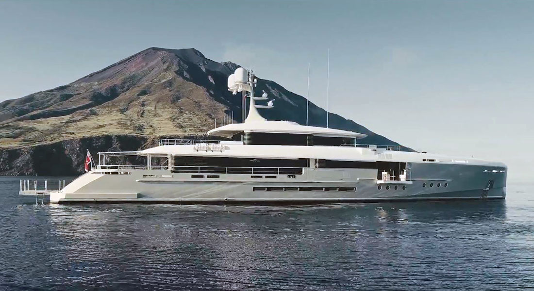 First Glimpses At Endeavour II Interior VIDEO Megayacht