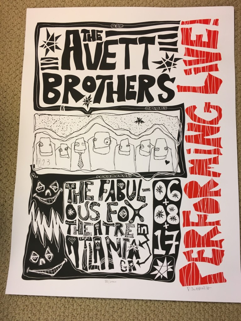 Avett Brothers Atlanta June 2017