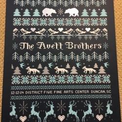 Avett Brothers Duncan SC December 2014