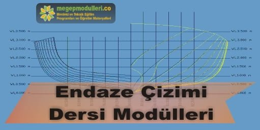 endaze cizimi dersi megep modulleri