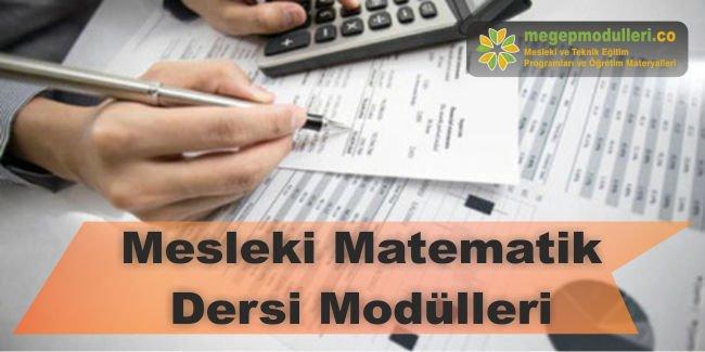mesleki matematik dersi modulleri