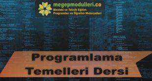 programlama temelleri megep modulleri