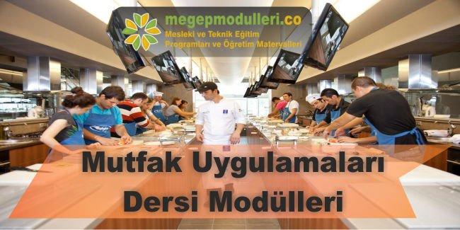 mutfak uygulamalari dersi modulleri