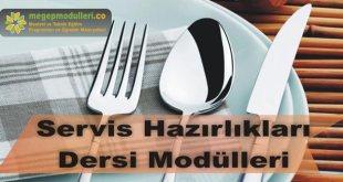 servis hazirlikleri dersi megep modulleri