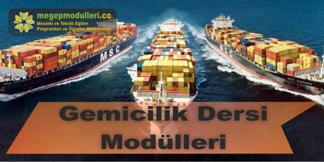 gemicilik dersi modulleri megep bireysel ogrenme materyalleri
