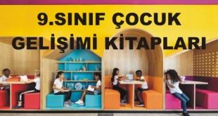 9.Sınıf Çocuk Gelişimi ve Eğitimi Alanı Kitapları