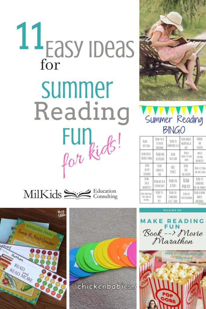 Make summer reading super easy and fun with simple ideas for kids!