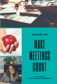 Make Meetings Count: Parent-Teacher Conferences for Busy Parents
