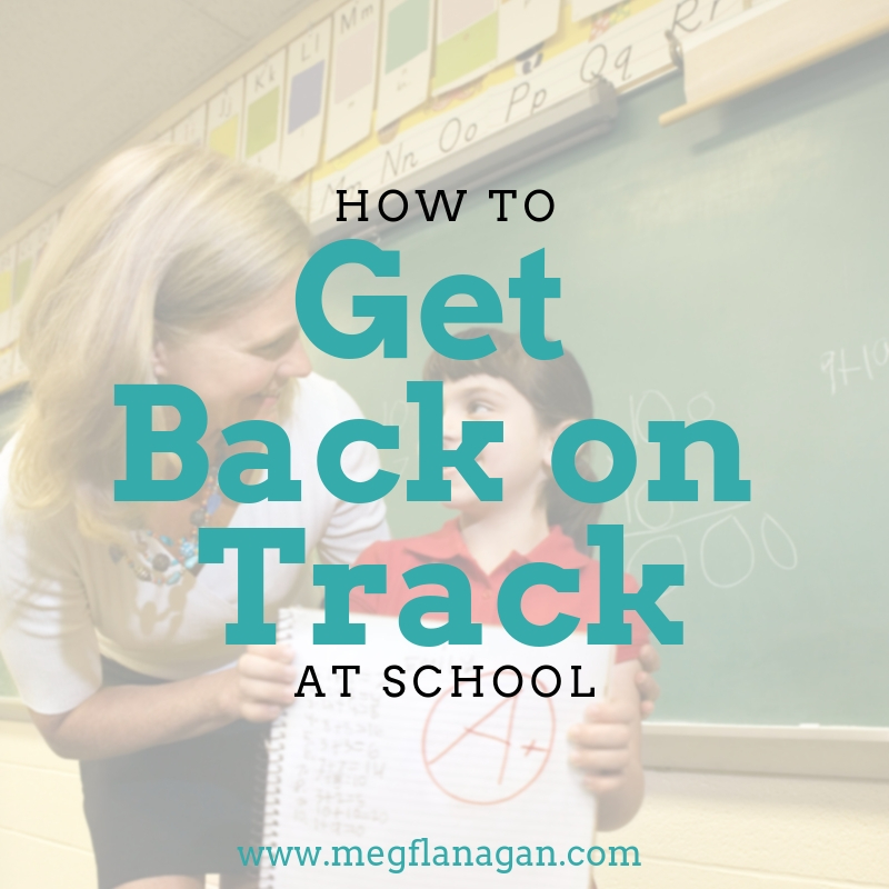 Help your child get back on track this school year with these super easy steps!