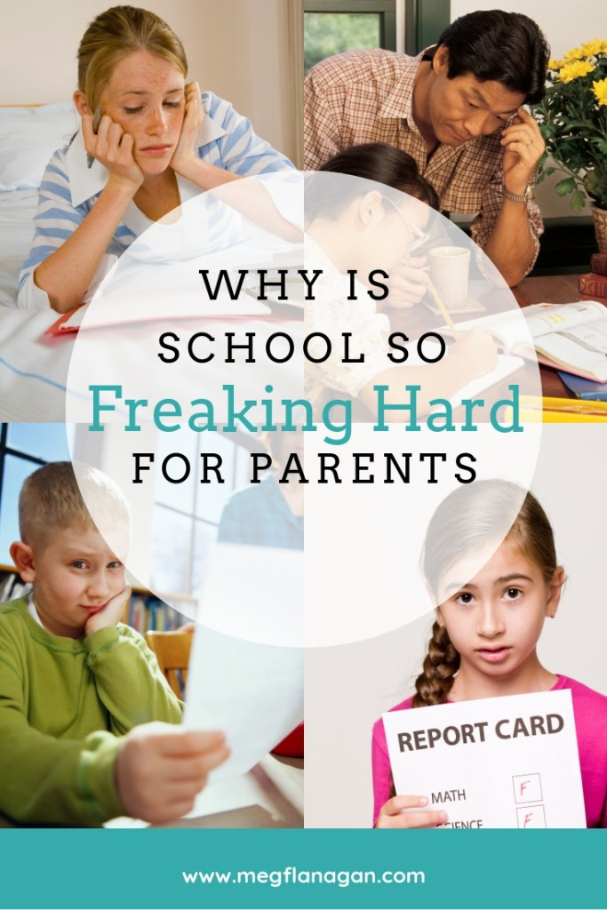 Why is school so freaking hard for parents? Make school simpler starting today!
