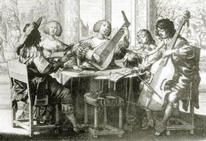 Engraving of Abraham Bump around 1635