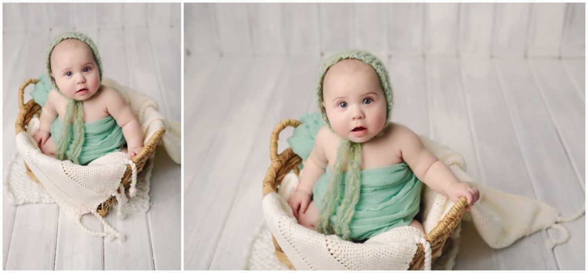 Michigan Baby Photographer, 6 Month Photo Session, Rochester Hills, Michigan