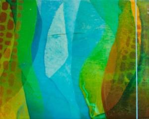 """Search Me"" by Meghan MacMillan, acrylic on birch, 8 x 10"", 2014"