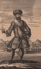 blackbeard - fur hat