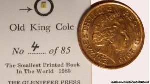book size of coin