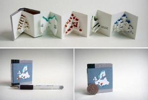 pop up mini book