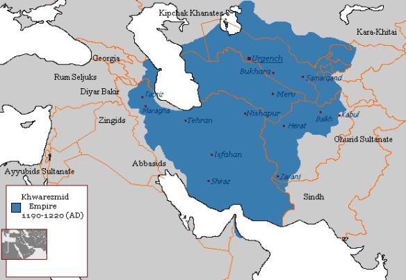 Khwarezmian_Empire_1190_-_1220_(AD)