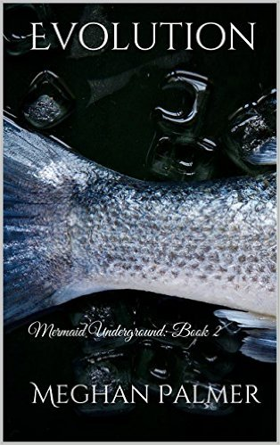 fish tail in ice cover of Evolution ebook