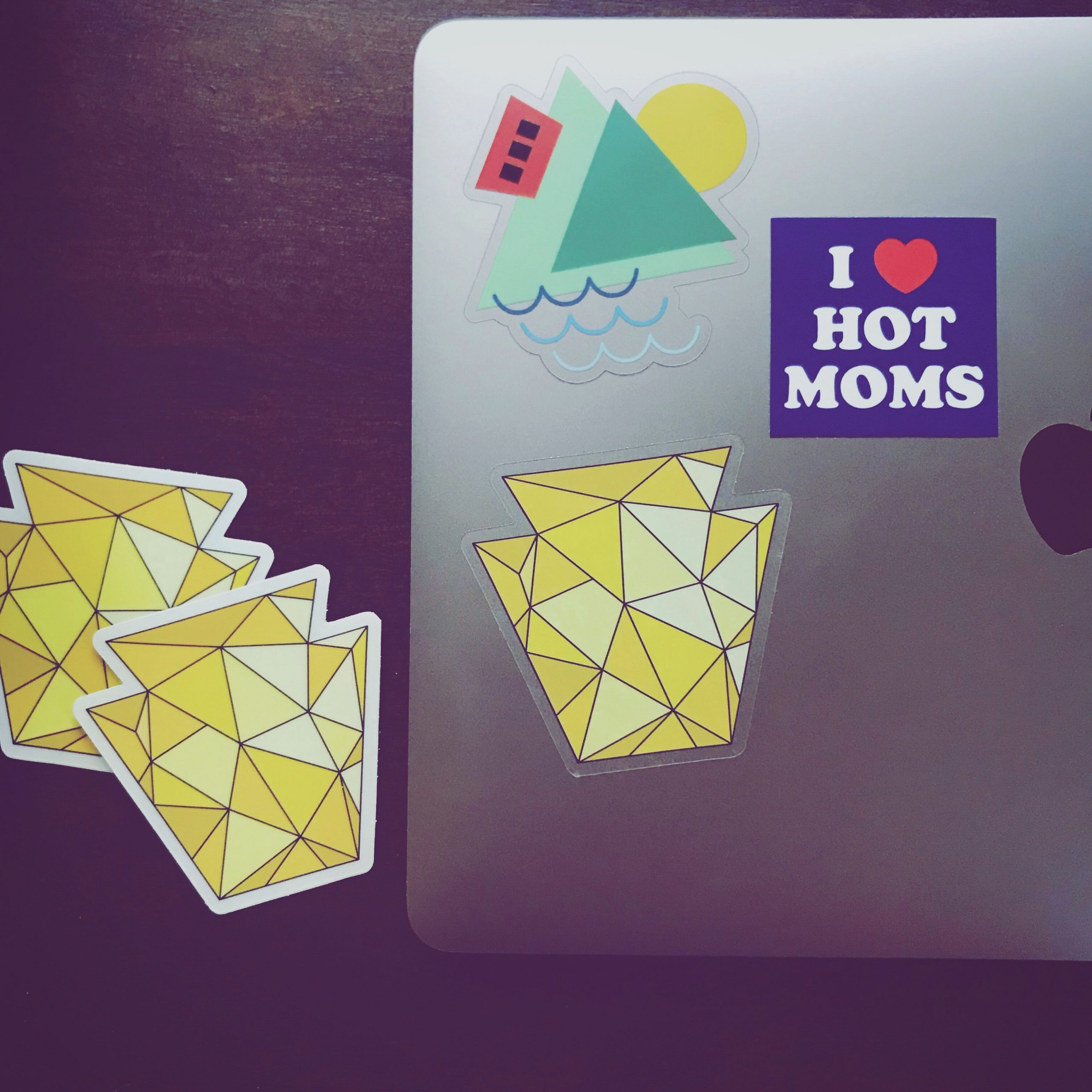 Pittsburgh laptop stickers by 1flychicken creations