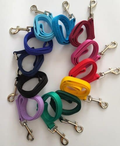 Dog leads Colour Selections