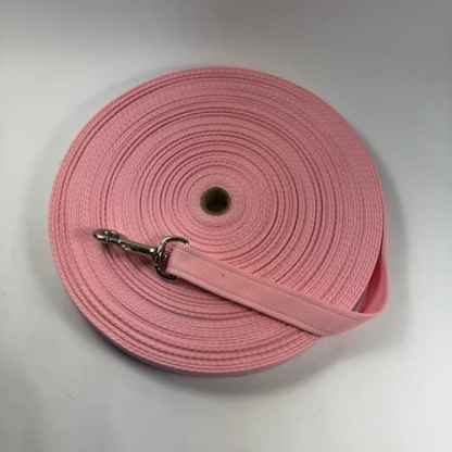 dog training lead baby pink