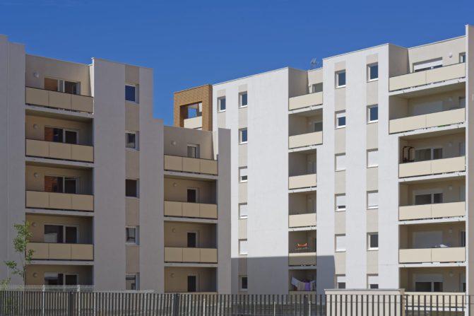 Residence ELAIA-65 logements-MONTPELLIER.Bouygues Batiment Sud-est