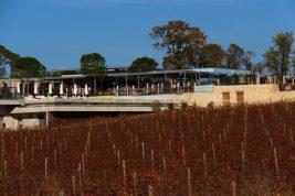Vue de La Plage depuis les vignes environnantes