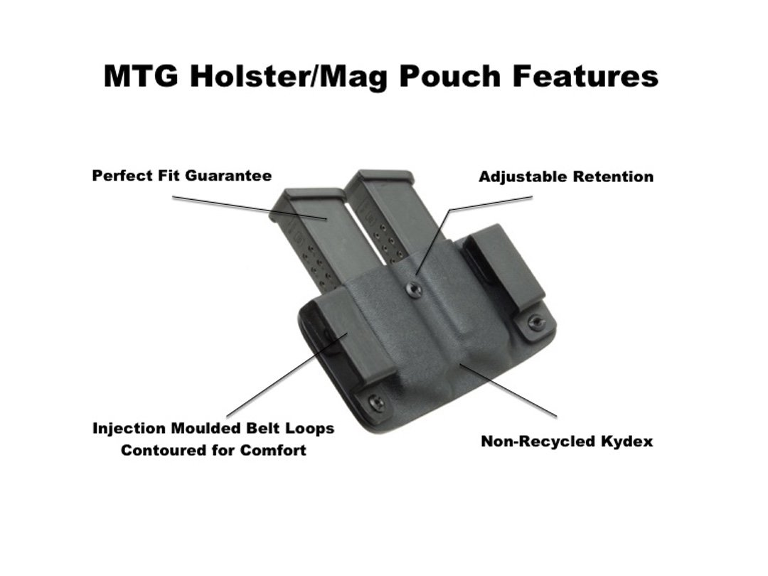 MTG holster Features