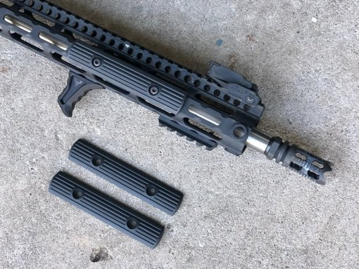 Megiddo 3 Slot MTG M-LOK Panels and VP-24 Handstop