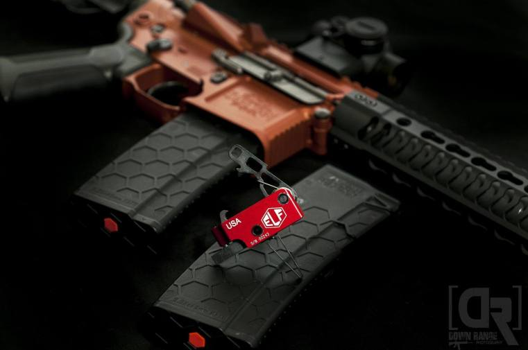 Elf 3 Gun Flat Trigger