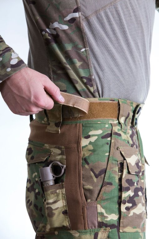 Disruptive Combat Pants Waist Adjustment