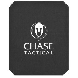 Chase Tactical AR500 Level III+ Stand Alone Rifle Plate NIJ 0101.06 Certified & DEA Compliant (Rhino Extreme Coating)