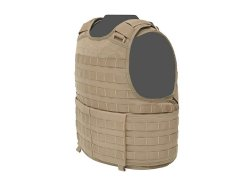 RAPTOR RELEASABLE PLATE CARRIER Coyote Side