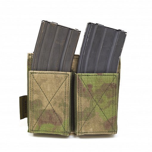 Warrior Assault Systems Double Elastic Mag Pouch Mtgtactical Com