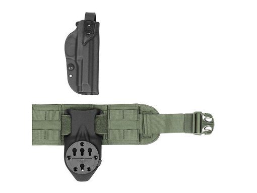Warrior Assault Systems Gunfighter belt Duty side