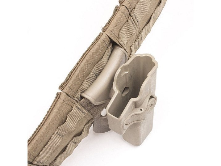 Warrior Assault Systems Gunfighter belt Tan Holster
