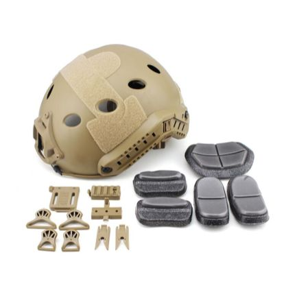 Chase Tactical BUMP Helmet Coyote