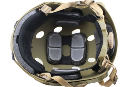 Chase Tactical BUMP Helmet Inside